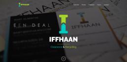 Portfolio voorbeeld van www,iffhaan.nl gemaakt door NVinity