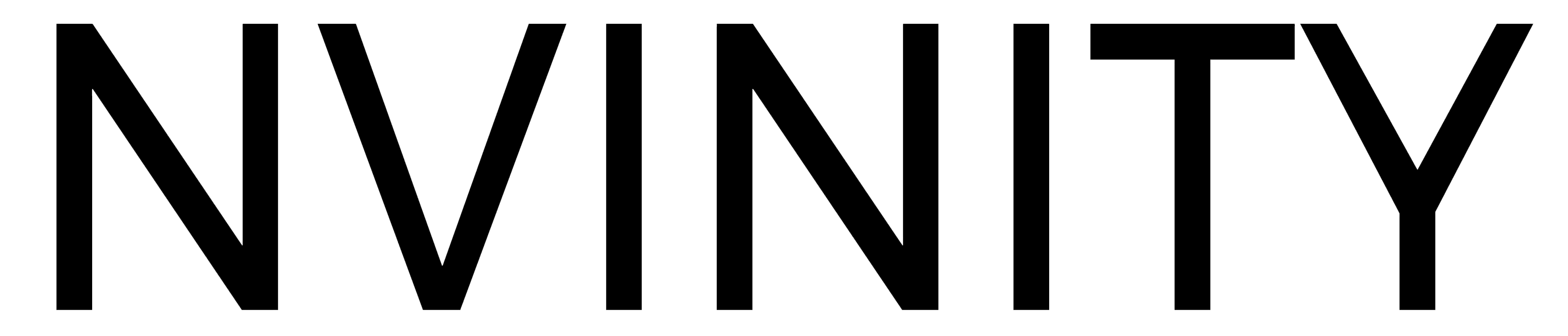 Logo NVinity zwart
